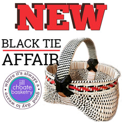 Black Tie Affair Basket | Jill Choate Basketry