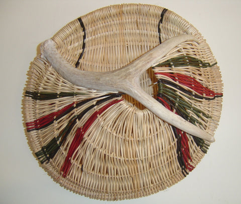 Antler Roundabout Basket | Jill Choate Basketry