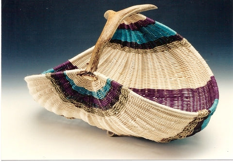 Fanned Market Basket | Jill Choate Basketry