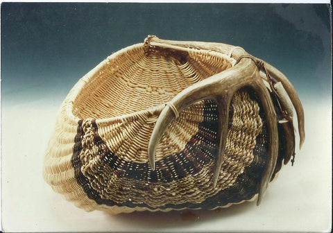 Side Antler Basket | Jill Choate Basketry