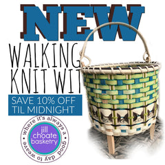 Walking Knit Wit | Jill Choate Basketry
