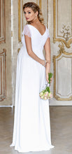 Laden Sie das Bild in den Galerie-Viewer, Umstandsbrautkleid ELEANOR