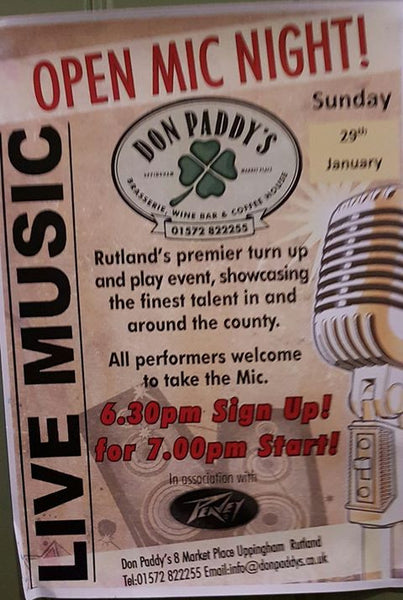 Open Mic Night! - 29th January