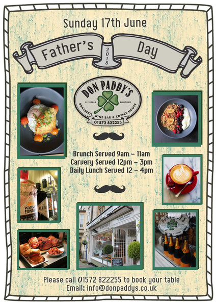 Father's Day, 17th June 2018