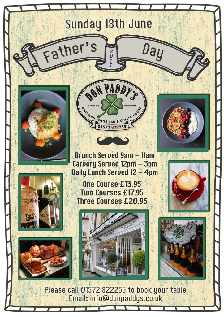 Father's Day, 18th June 2017