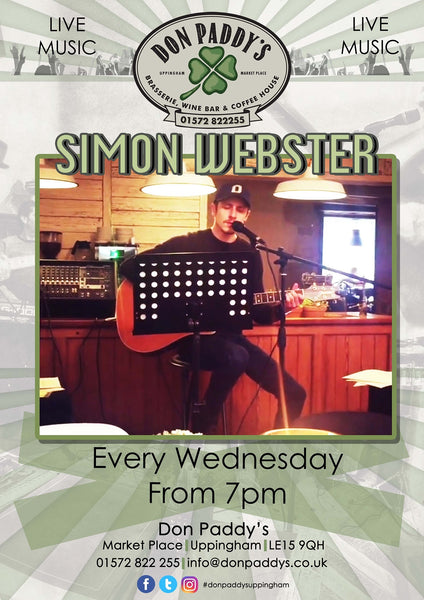 LIVE MUSIC - Simon Webster