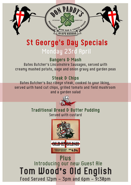 St George's Day - Monday 23rd April