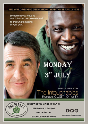 Don Paddy's Cinema Night, Monday 3rd July