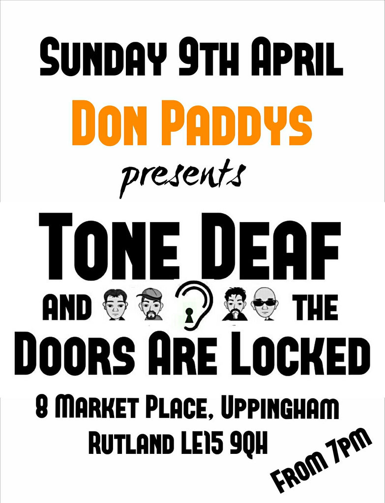 Tone Dear and the Doors are Locked, 9th April 2017
