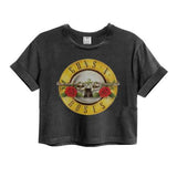 Guns 'n' Roses Drum Logo Amplified Crop Top