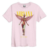 Nirvana In Utero Pink Amplified Men's T-shirt