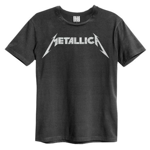 Metallica Logo Amplified Men's T-shirt