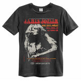 Janis Joplin was a singer and songwriter from Texas who performed in psychedelic rock band Big Brother and the Holding Company before performing solo. Janis Joplin was well known for her live performances and her ability to play multiple instruments.  With Big Brother and the Holding Company, she achieved a number 1 album in the US with Cheap Thrills. Get Your Janis Joplin amplified t-shirt now from backstage originals
