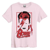 Bowie Aladdin Sane Pink 182 Amplified Men's T-shirt