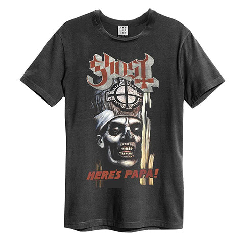 Ghost Amplified Charcoal T-shirt