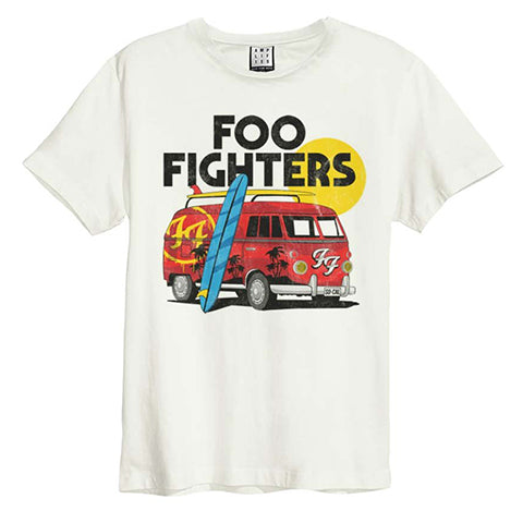 foo fighters camper van amplified t-shirt for mens and ladies from backstage originals, London ,notting hill gate. official merch