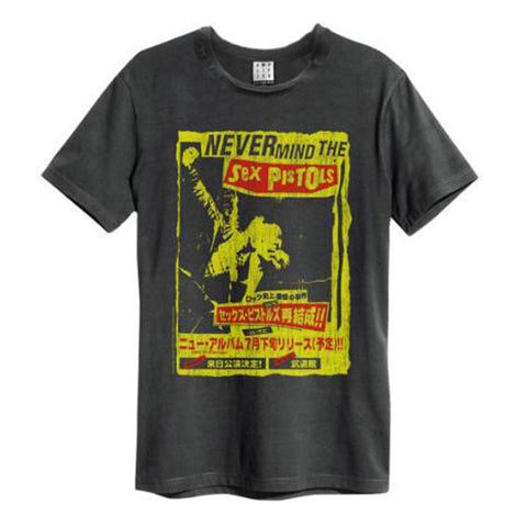 Never Mind The Sex Pistols Men's T-shirt Formed in 1975 in London, the Sex Pistols initiated the punk movement in the UK and inspired many later punk and rock bands. Lead by Johnny Rotten and with Sid Vicious on bass, they released their notorious track God Save the Queen. With only...