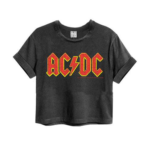 AC/DC Logo Cropped Top