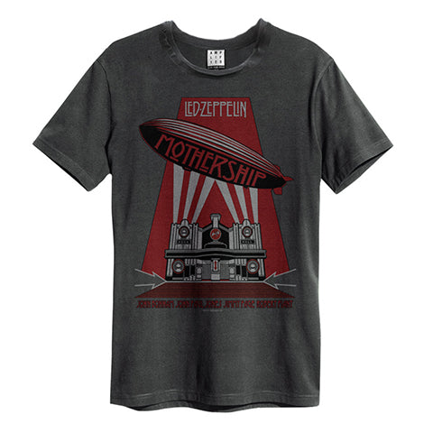 LED ZEPPELIN MOTHERSHIP AMPLIFIED MEN'S T-SHIRT