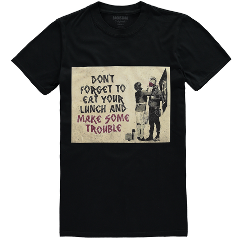 Banksy Make Trouble Men's T-shirt