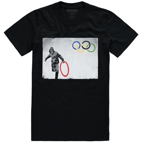 Olympic Ring Thief Men's T-shirt