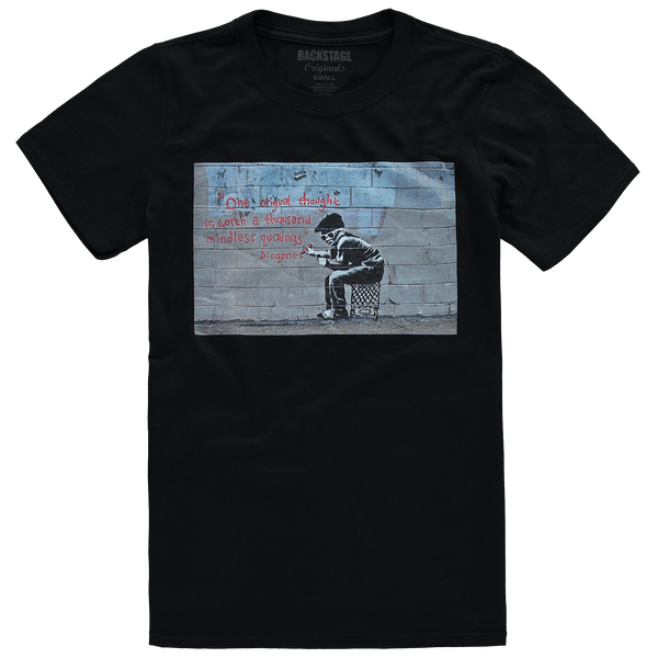 Banksy Original Thought Men's T-shirt