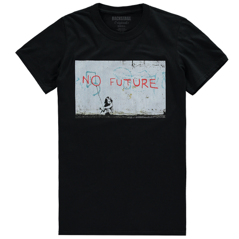 Banksy No Future Men's T-shirt