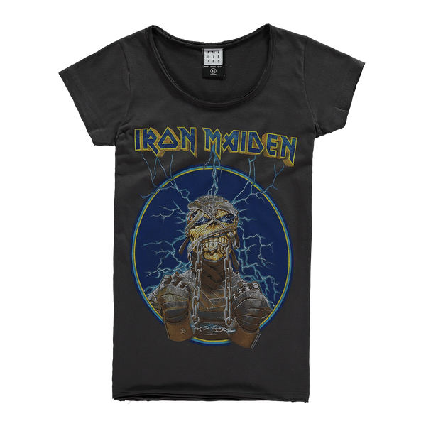 Iron Maiden Mummy Amplified charcoal Women's T-shirt