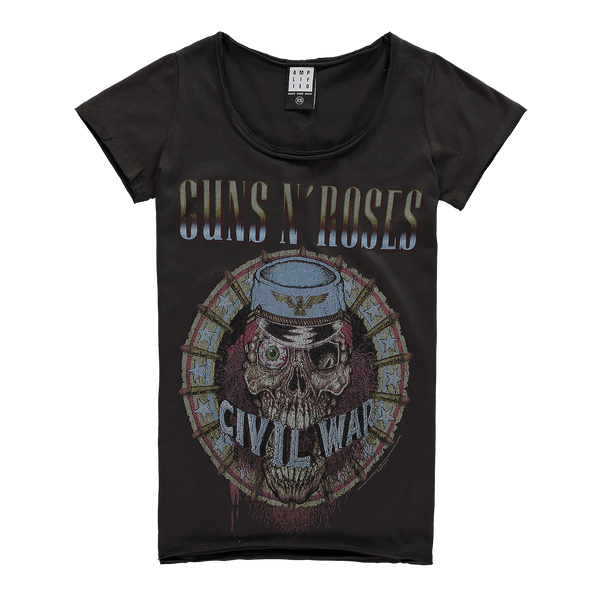 GUNS N ROSES CIVIL WAR WOMEN'S T-SHIRT