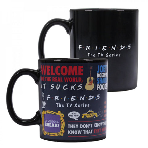 Friends Heat Changing Mug Boxed