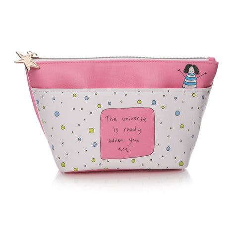 May The Thoughts Cosmetic Bag By Charlotte Reed