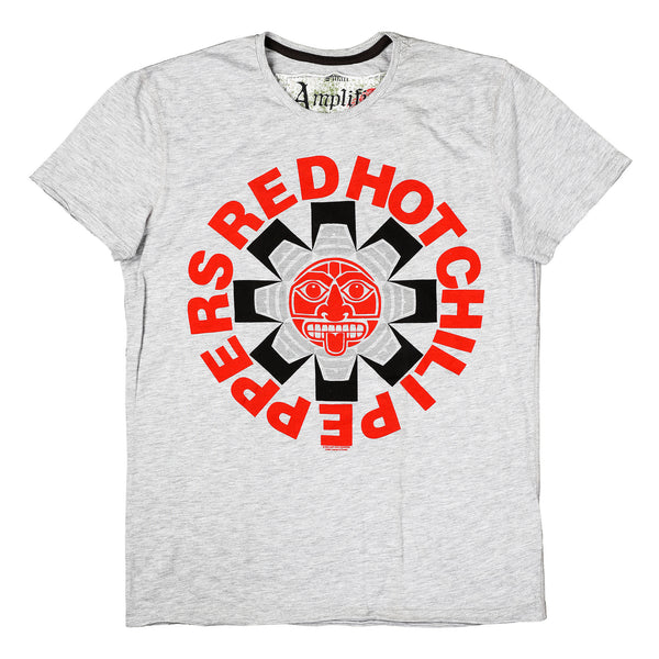 Red Hot Chili Peppers Amplified Men's T-shirt Grey