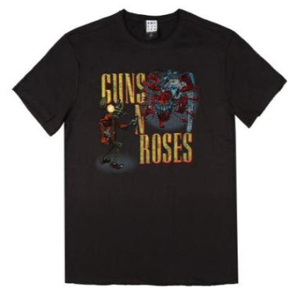 Guns 'n' Roses Appetite Attack Amplified Men's T-shirt