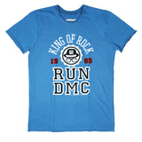 RUN DMC KING OF ROCK Blue Men's T-shirt