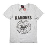 Vintage Crew Ramones Logo Amplified Men's White T-shirt