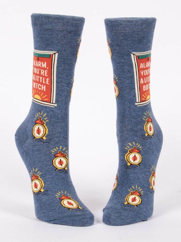 Alarm, You're A Little Bitch W-Crew Socks