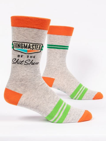 Ringmaster Of The Shit show Men's-Crew Socks