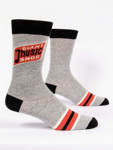 Giant Music Snob Men's-Crew Socks