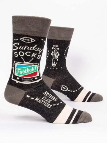Sunday Men's-Crew Socks