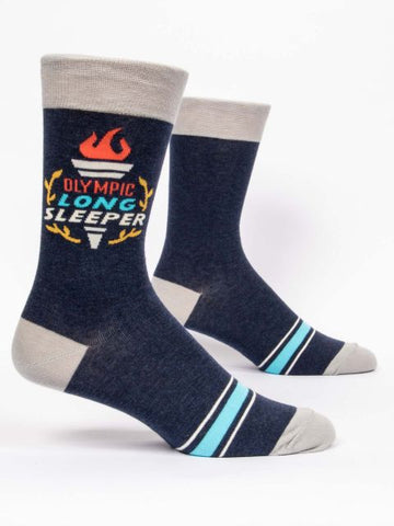Olympic Long Sleeper Men's-Crew Socks
