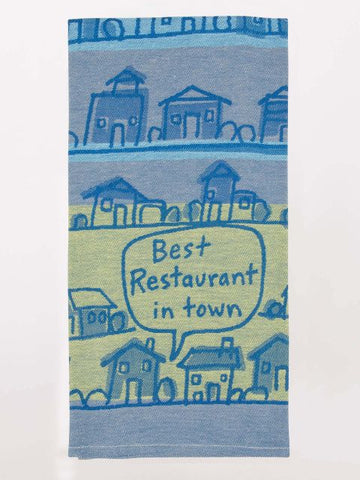 Best Restaurant In Town Woven Dish Towels