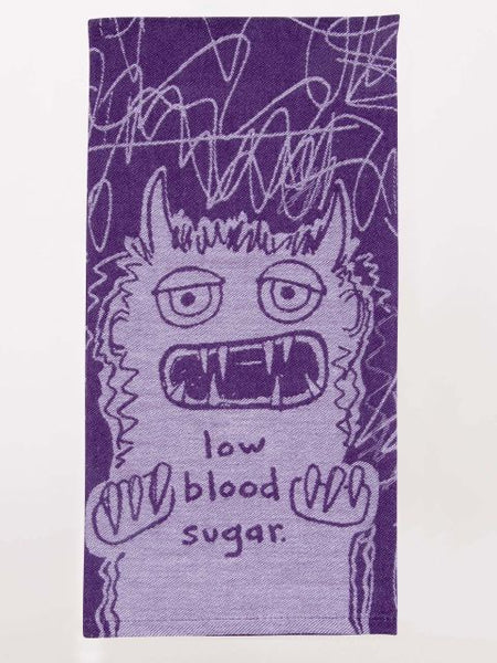 Low Blood Sugar Woven Dish Towels