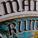 Jamaica Rum Old Harbour Metal Plate Sign By Nostalgic Art