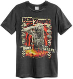 ROB ZOMBIE MENS AMPLFIED T-SHIRT