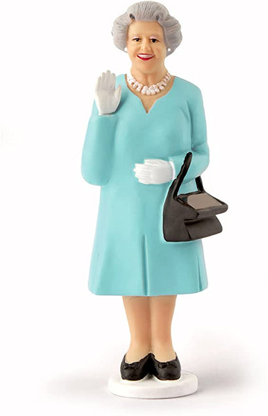 SOLAR QUEEN LIGHT BLUE WAVING FIGURE