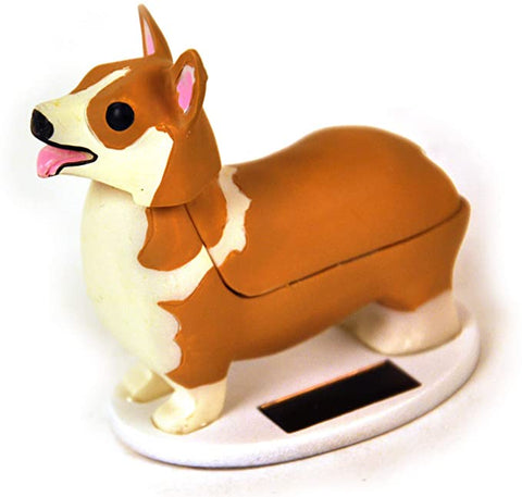 SOLAR ELROY CORGI QUEENS DOG FIGURE