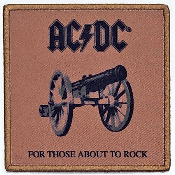 AC/DC For Those About To Rock Standard Patch