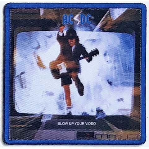 AC/DC Blow Up Your Video Standard Patch