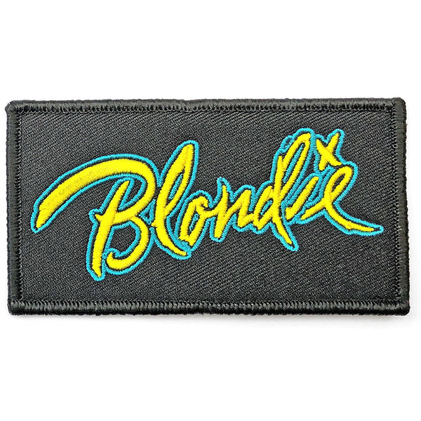 Blondie Mini Woven Patch: Blondie Logo