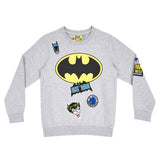 Batman Logo Badge Kid's Sweatshirt